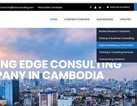 Market research company website