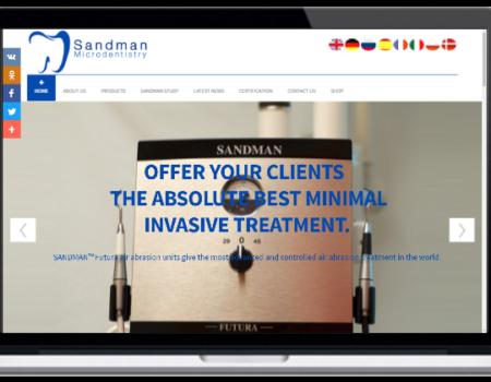 Dental equipment website & e-Commerce
